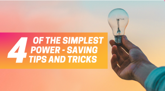Electricity Saving Tricks